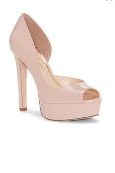 aaac8d03ce02 Jessica Simpson Womens Martella Pink Peep Toe Heels Size 6.5  fashion   clothing  shoes