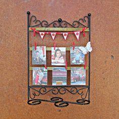 Hanging photo display