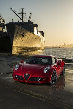 2015 Alfa Romeo 4C... Road presence as only the Italians can produce
