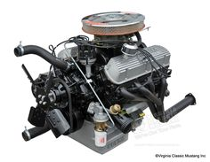 1965 & 1966 Shelby GT350 Engine