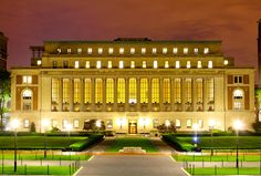 Columbia University's Butler Library-the most amazing library I've ever been to. By far.