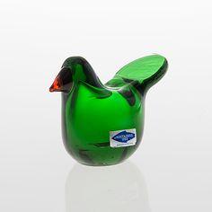 """OIVA TOIKKA, LINTU, """"Sieppo"""", signerad O. Toikka Nuutajärvi Notsjö. Great Names, Glass Birds, Sculpture, House Goals, Glass Design, Scandinavian Design, Finland, Modern Art, Glass Art"""