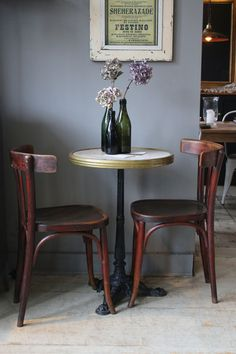 Pair of Vintage Cafe Chairs | discoverattic