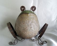 Frog Shaped Garden Décor