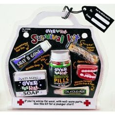Over the hill survival kit!