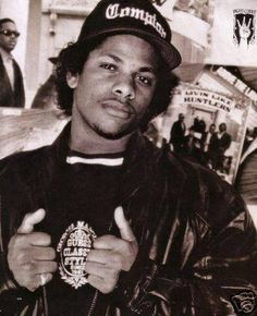 One of the greatest rappers ever...Eazy-E  R.I.P