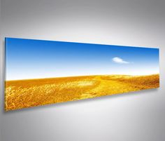 Himmel-Panorama-Format-Modernes-Bild-auf-Leinwand-Wandbild-Poster