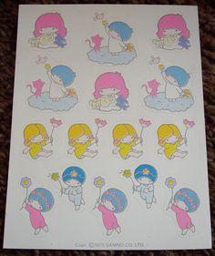 【1976】Stickers ★Little Twin Stars★