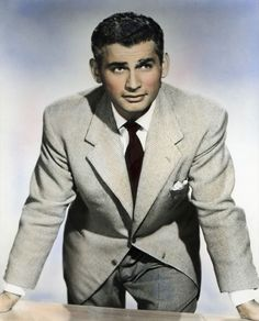 Jeff Chandler 1950's actor by slr1238 on DeviantArt