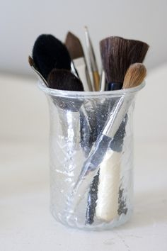 Only use fresh makeup and applicators. Makeup and makeup brushes tend to garner a lot of bacteria and will eventually go bad! Switch out your makeup every few months and wash your brushes once a week to avoid a bacteria buildup on your face. Your skin will thank you for it!