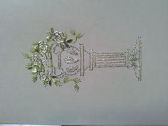 mediterrán 5 Embroidery Cards, Stitching, Graphics, Wedding, Art, Flower, Costura, Valentines Day Weddings, Art Background