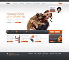 Alka - Interactive design by Sebastian Gram, via Behance