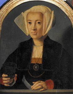 Bild: Bartholomäus Bruyn d. Ä. - Bildnis einer Patrizierin