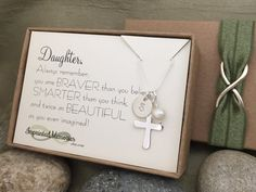 Daughter Gift First Communion Gift for Daughter Baptism Gift
