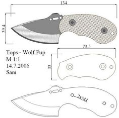 knife making easy Cool Knives, Knives And Tools, Knives And Swords, Knife Drawing, Knife Template, Opinel, Diy Knife, Knife Patterns, Neck Knife