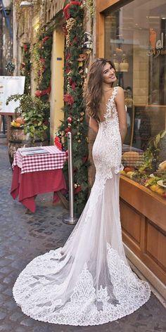 Dimitrius Dalia Wedding Dresses For Modern Bride ❤ See more: http://www.weddingforward.com/dimitrius-dalia-wedding-dresses/ #weddings