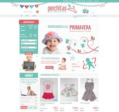 We love the fresh and lovely design of Perchitas.com. #shopshot