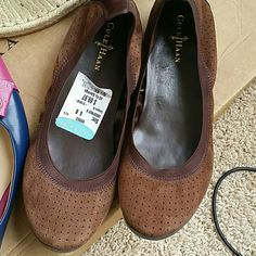 cole hann flats Wear once in a good condition Cole Haan Shoes Flats & Loafers