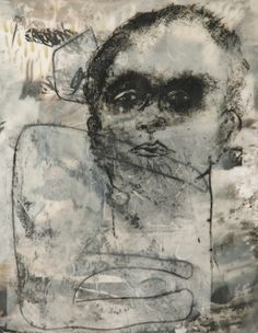 Tatana Kellner, from Masked series trace monoprint, encaustic mounted on wood 20 x 16 Art Courses, International Artist, Creative Inspiration, Printmaking, Book Art, Apd, Gallery, Drawings, Illustration
