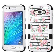 MYBAT TUFF Samsung Galaxy J7 Case - Pink Fresh Roses