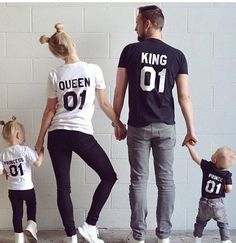family graphic tees outfit