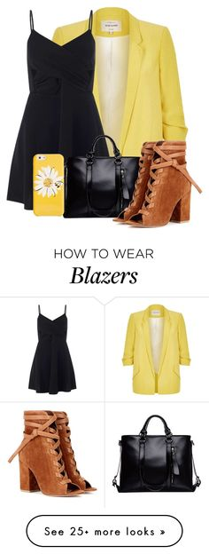 """""""140"""" by jesuisleclown on Polyvore featuring River Island, Miss Selfridge, Gianvito Rossi and Kate Spade"""