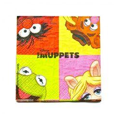 Servilletas Muppets Teens - Artículos de Fiesta