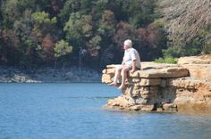 A place to dream. Table Rock Lake, MO