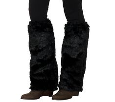 Slip these plush faux fur warmers from Dennis Basso over your boots for a chic, winter-ready look. Page 1 QVC.com