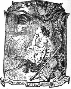 Best known for his work on Andrew Lang's Fairy Books — a 12-volume collection of children's tales that brought international, oral folklore to print (in many cases for the first time ever) — illustrator Henry J. Ford depicted gazing, dreaming figures and creative borders and backgrounds.