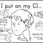 I designed this 9-page mini-book for a student who wouldn't wear his cochlear implant. It can be used as a coloring-book or as a reusable mini-boo...