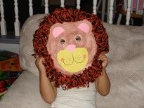 cute craft for the safari theme--for disney world theme week (animal kingdom day Kids Learning Activities, Preschool Ideas, Easy Crafts For Kids, Cute Crafts, School Fun, Sunday School, August Calender, Safari Crafts, Lion Mask