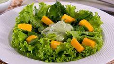 Viver Bem Diariamente: Salada Tropical de Manga