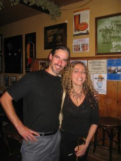 Carmen and unknown person
