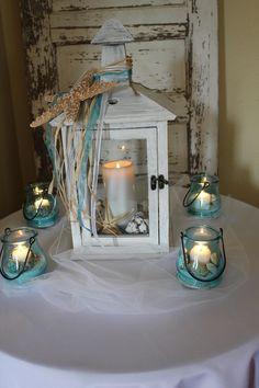 beach wedding centerpieces reception decorations