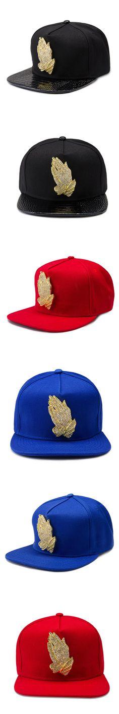 NYUK Black Blue Red Caps Praying Hands Baseball Cap Adjustable Snapback Hats Sports Gorras Hip Hop Style For Women Men Sun Hat