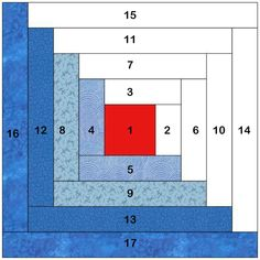How to Strip Piece Log Cabin Quilt Blocks Learn the fast way to make the classic Log Cabin quilt block from fabric strips. Tutorial from NewQ Log Cabin Patchwork, Hexagon Patchwork, Log Cabin Quilt Pattern, Patchwork Quilt Patterns, Beginner Quilt Patterns, Log Cabin Quilts, Quilting For Beginners, Quilt Patterns Free, Quilt Tutorials