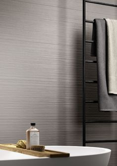 Materika - Satin concrete effect wall tiles | Marazzi