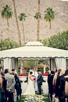 Viceroy Palm Springs Wedding Photo By Hoffmannphotographer