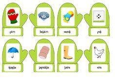 Σμαράγδια και ρουμπίνια Mittens, Literacy, Alphabet, Activities, Winter, Greek, Blog, Crafts, School