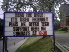 More Fabulous and Inspiring Church Signs!