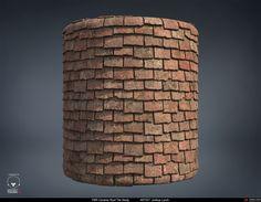 ArtStation - PBR Procedural Ceramic Roof Tiles Material Study, Joshua Lynch