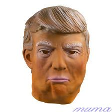 Halloween Donald Trump Mask Latex Overhead Funny Republican Party The Apprentice for sale Donald Trump Costume, Trump Mask, Head Mask, Period Costumes, Republican Party, Halloween Masks, Fancy Dress, Latex, Fashion Outfits