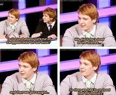 These Harry Potter Memes weasley twins are so hilarious that will make you ROFL and LOL for whole day.We are sure you will enjoy these Harry Potter Memes weasley twins. Ridiculous Harry Potter, Harry Potter Jokes, Harry Potter Cast, Harry Potter Fandom, Harry Potter World, Sassy Harry Potter, Harry Potter Interviews, Harry Potter Imagines, Fred Y George Weasley