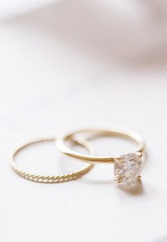 Catbird wedding rings | Reverie Supply | see more on: http://burnettsboards.com/2015/02/windswept-wedding-portraits/