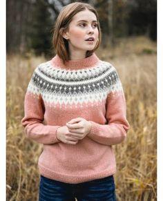 - Vardegenser til dame Fair Isle Knitting Patterns, Knitting Machine Patterns, Knitting Designs, Knit Patterns, Cute Sweaters, Sweaters For Women, Icelandic Sweaters, Nordic Sweater, Sweater Design