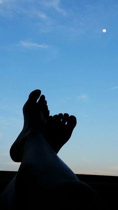 De pernas pro ar.
