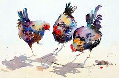 Hen Pecked by Jake Winkle