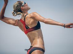 How Lululemon designed state of the art bikinis for Canada's Olympic beach volleyball team Volleyball Team, Beach Volleyball, State Art, Two Pieces, Olympics, Bikinis, Swimwear, Bathing Suits, Lululemon