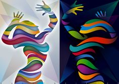 Color, movement, expression, modern dance Dance Logo, Arts Award, Modern Dance, Art Google, Unique Art, Pop Art, Vector Free, Digital Art, Projects To Try